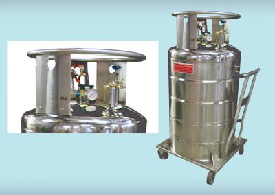 small liquid hydrogen dewar available