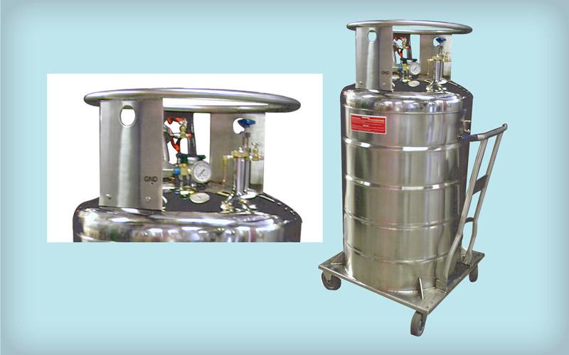 Small Capacity Liquid Hydrogen Dewars