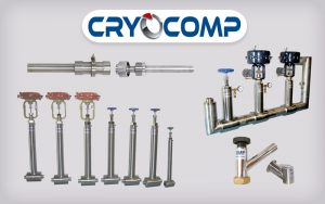 Cryocomp vacuum jacketed piping accessories