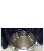 dipping bucket for cryogenic dewar flasks