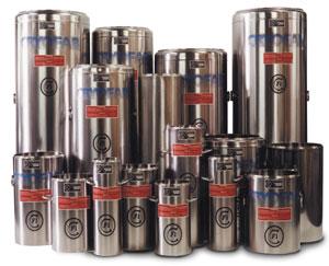 dewar flasks in all sizes