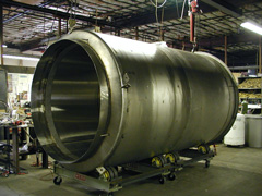 custom superconducting magnet dewar for laboratory
