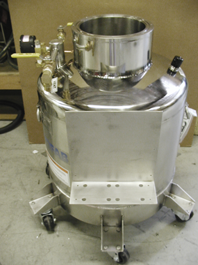custom manufacture of cryogenic equipment