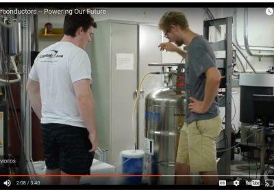 liquid nitrogen container used in physics lab