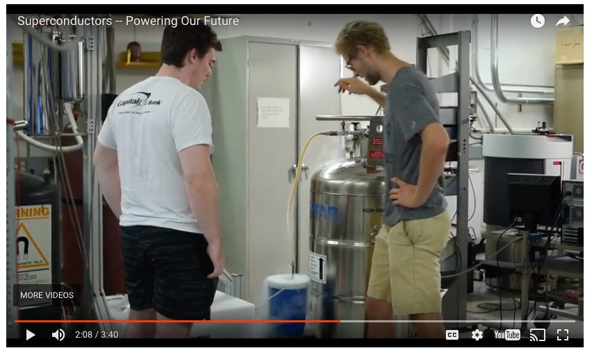 See Our Liquid Nitrogen Container In Use