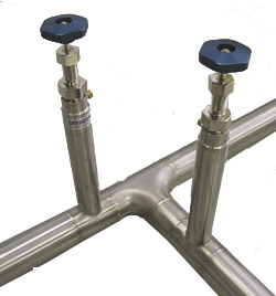 vacuum-jacketed transfer lines