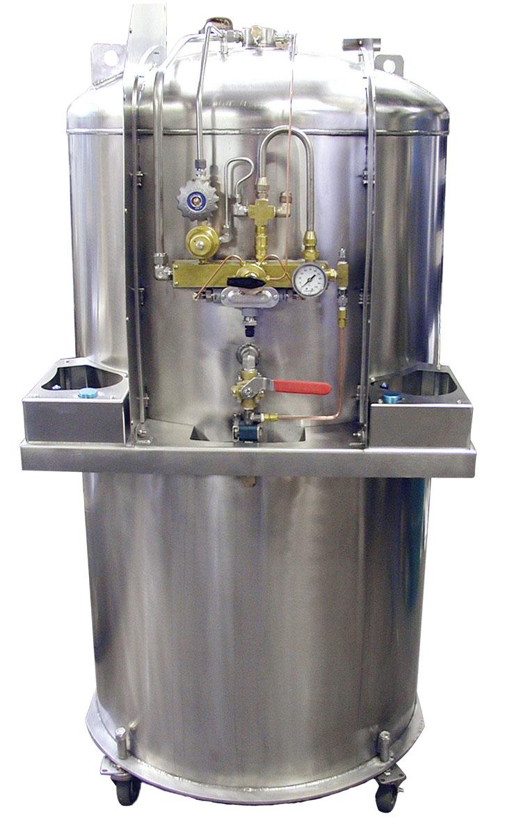 cryogenics nitrogen dewar