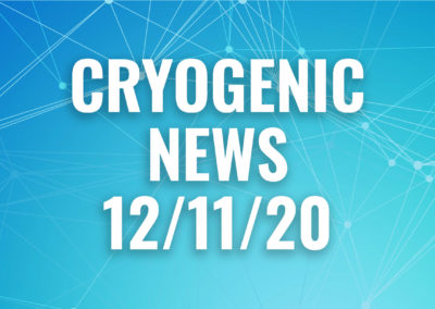 cryogenic news 12.11.20