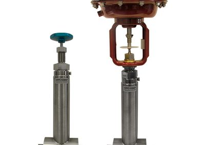 cryogenic valves manual and actuated