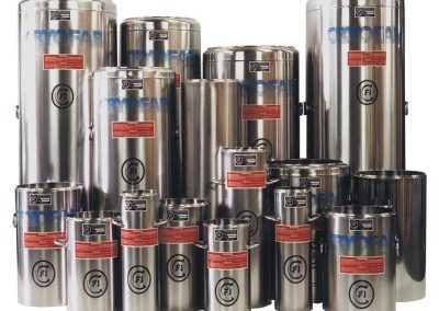 cryogenic dewar flasks