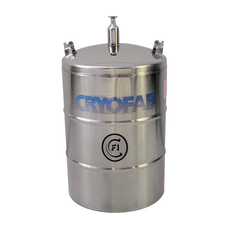 low pressure cryogenic container