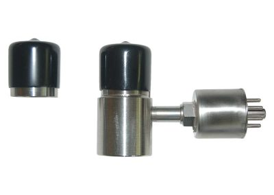 cryogenic vacuum valve with side port