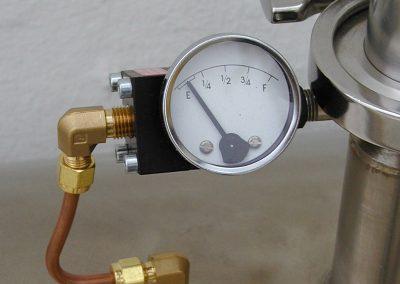 differential pressure cryogenic liquid level gauge