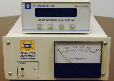 superconducting liquid level systems for liquid helium tanks