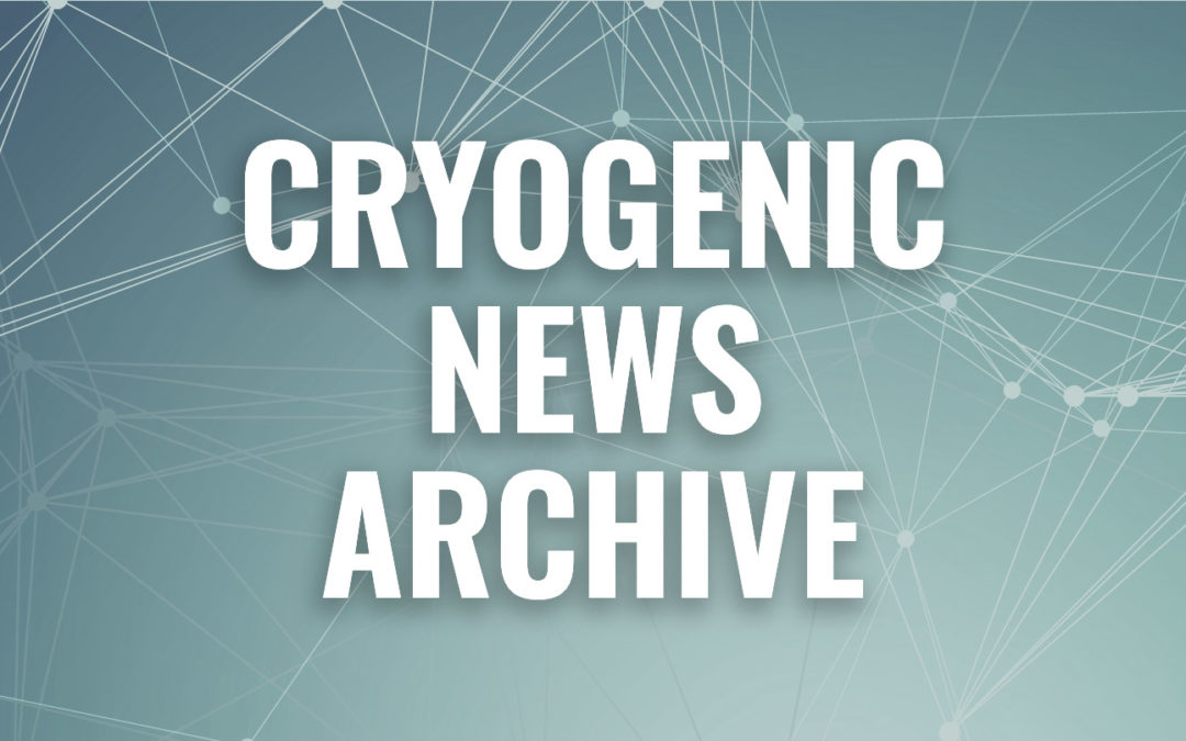 Cryogenic News of the Week Archives
