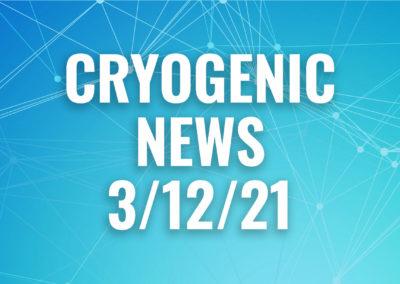 cryogenic news