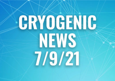 weekly cryogenic news