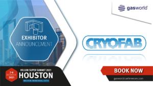 Cryofab will Exhibit at Helium Super Summit 2021
